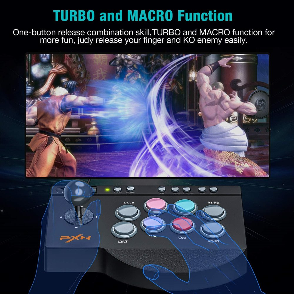 turbo and macro function