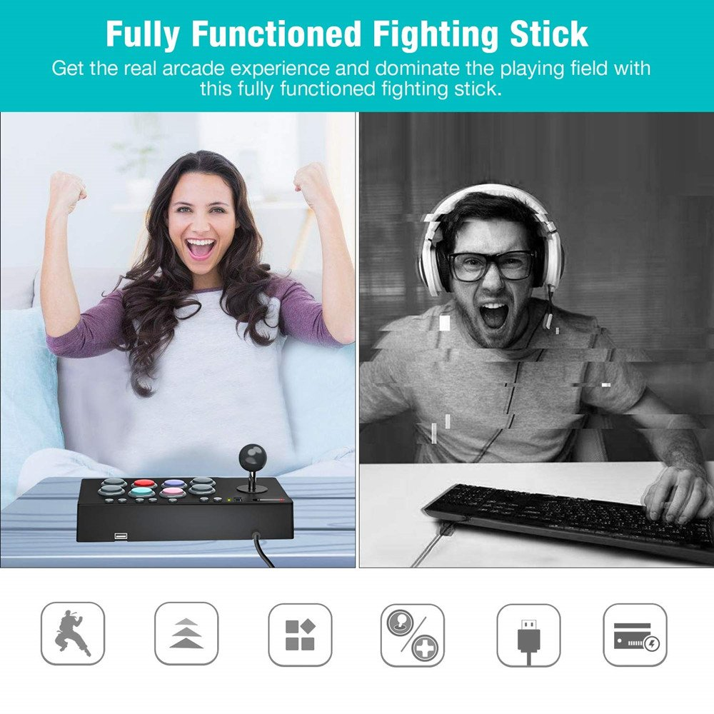 fully functioned fighting stick