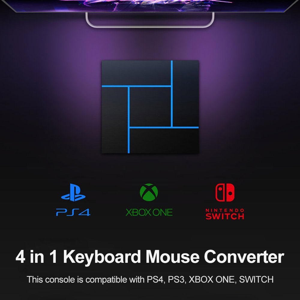 4 in 1 keyboard mouse converter
