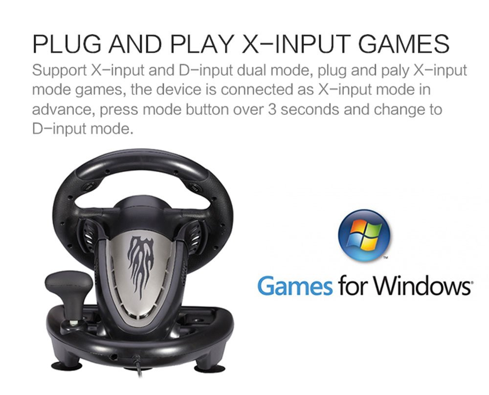 plug and play x-input games