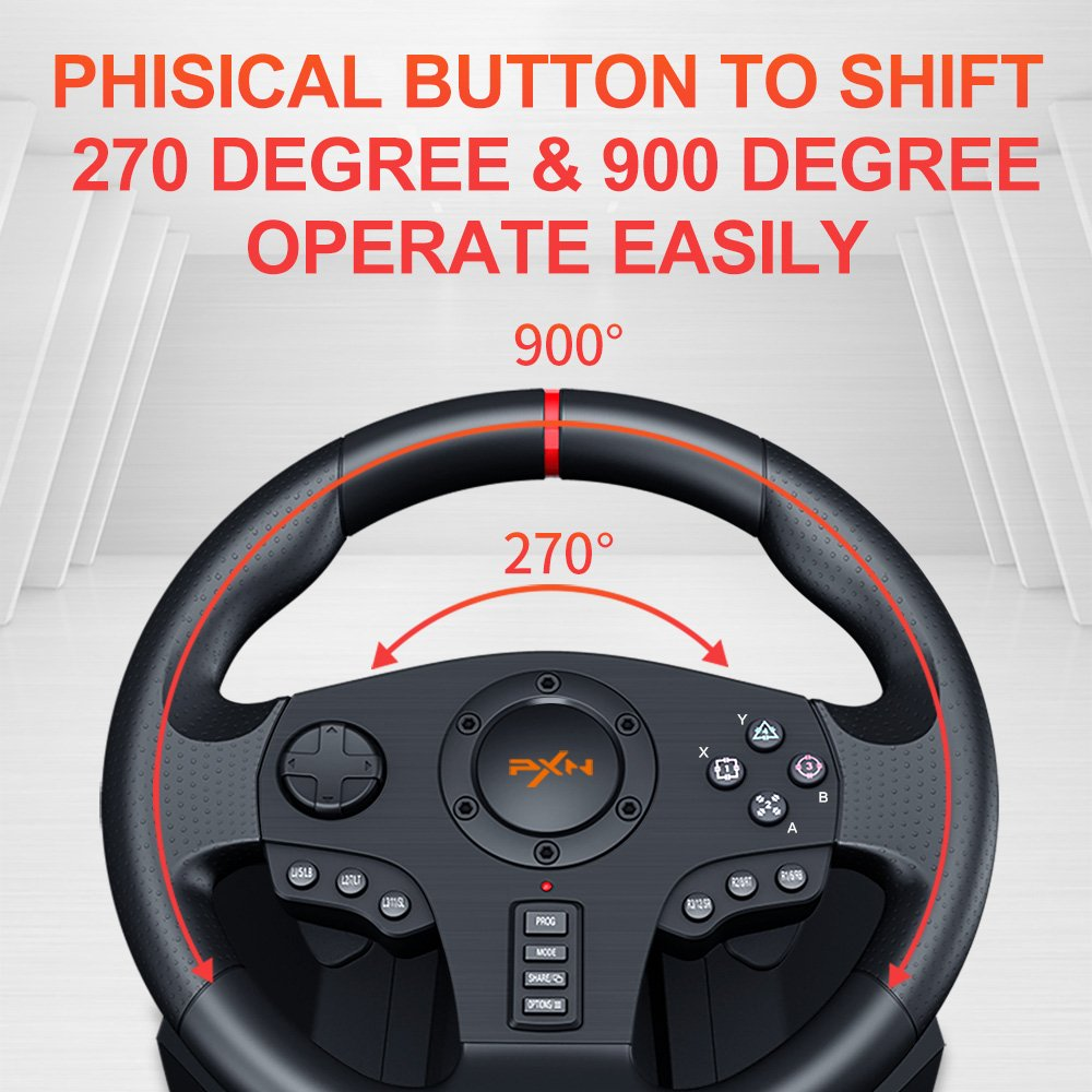 phisical button to shift 270 degree & 900 degree operate easily
