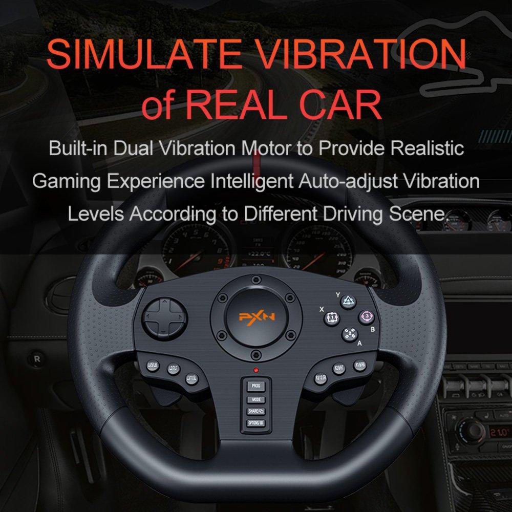 simulate vibration of real car