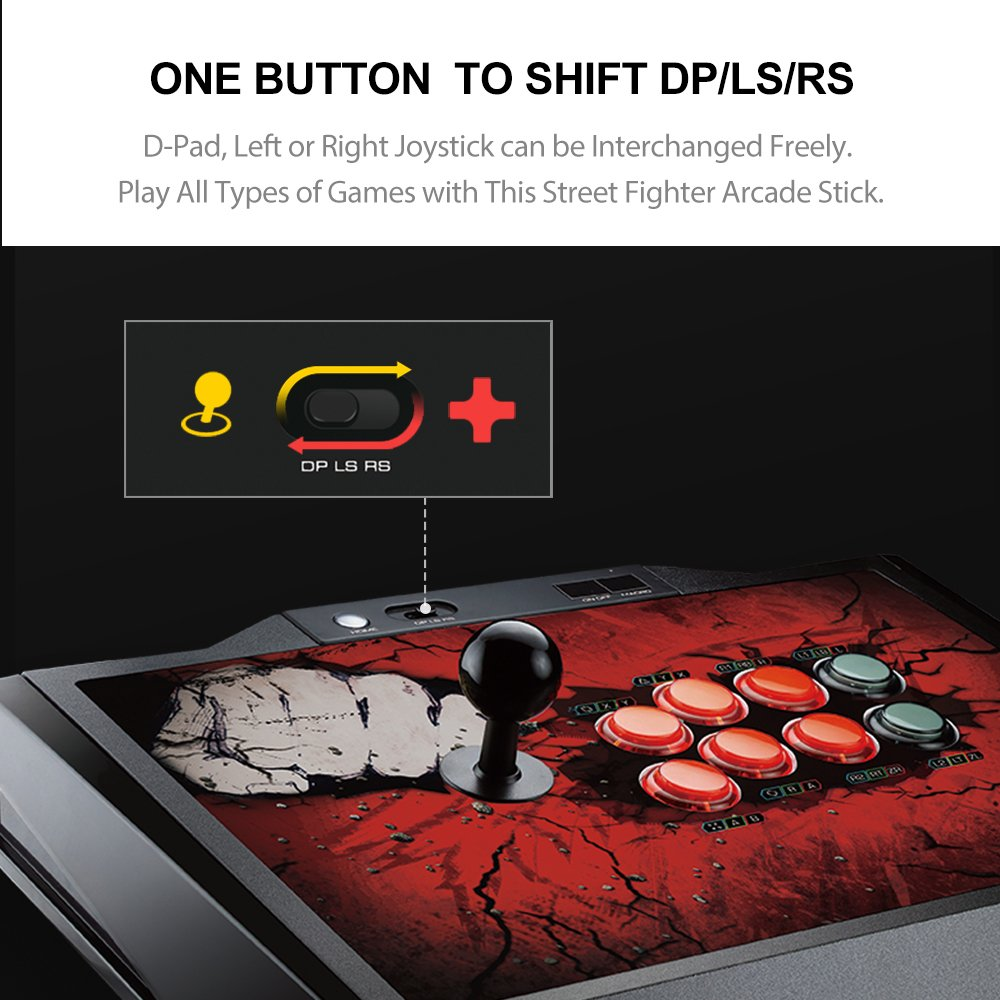 one button to shift dp/ls/rs