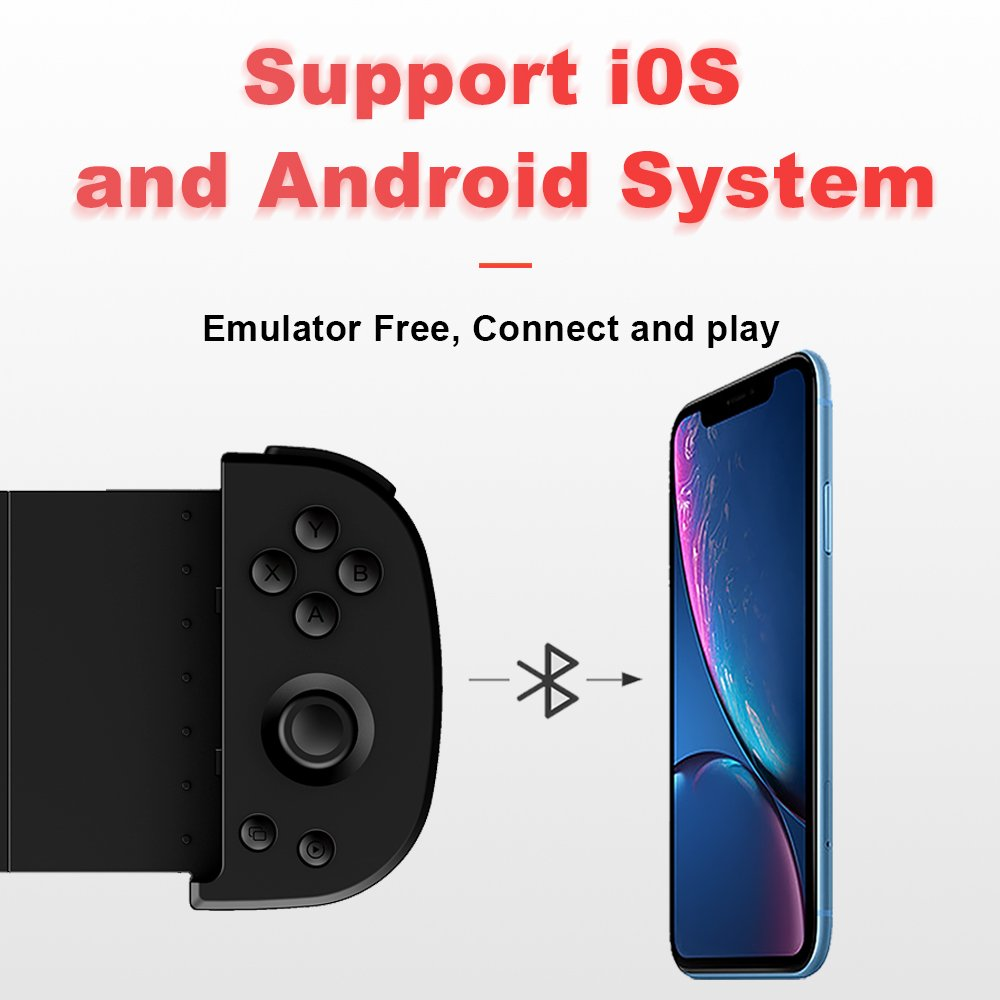 support ios and android system, emulator free, connect and play