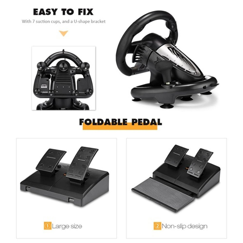 easy to fix, foldable pedal
