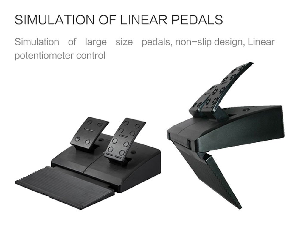 simulation of linear pedals