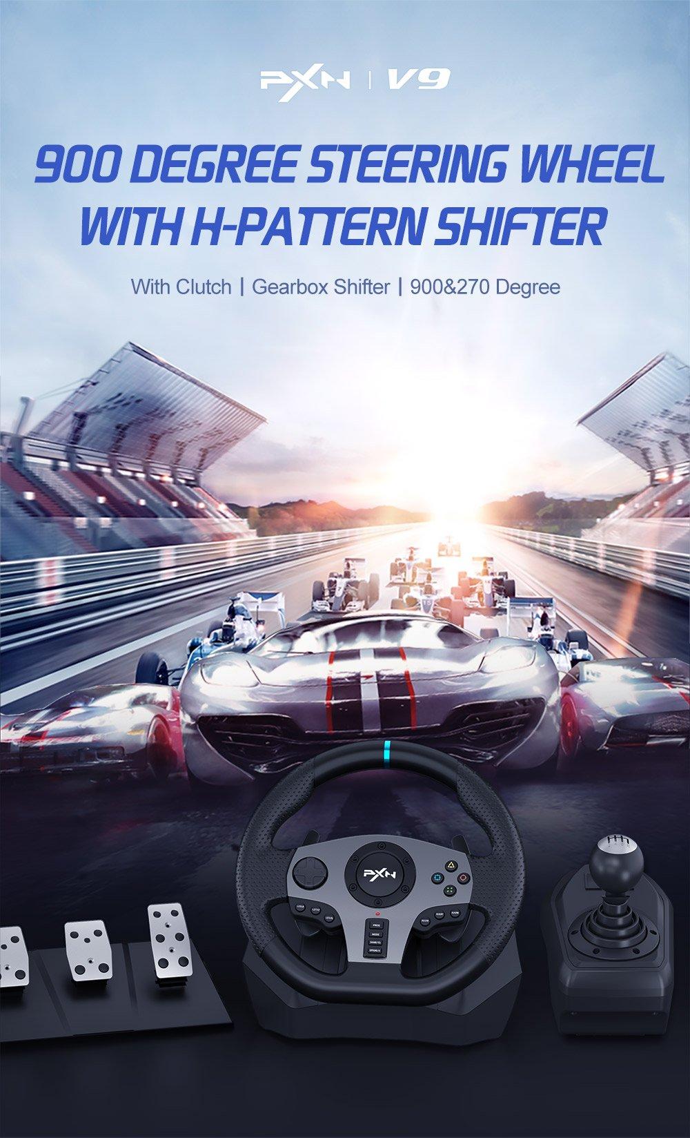 PXN V9 steering wheel