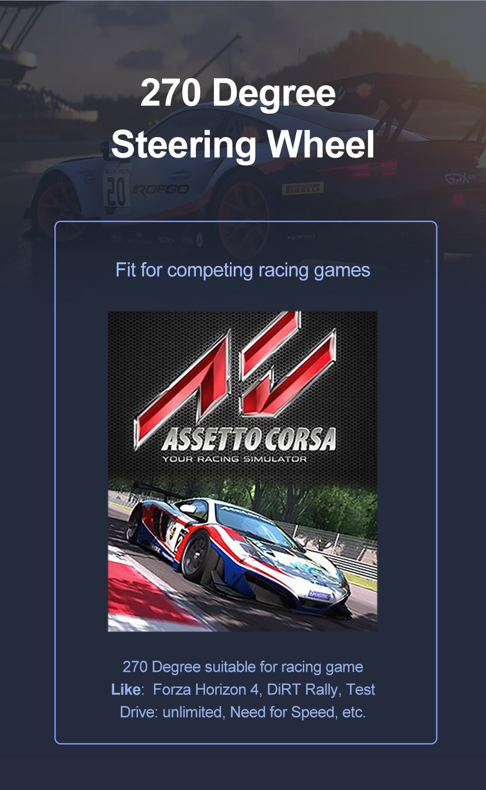 assetto corsa steering wheel