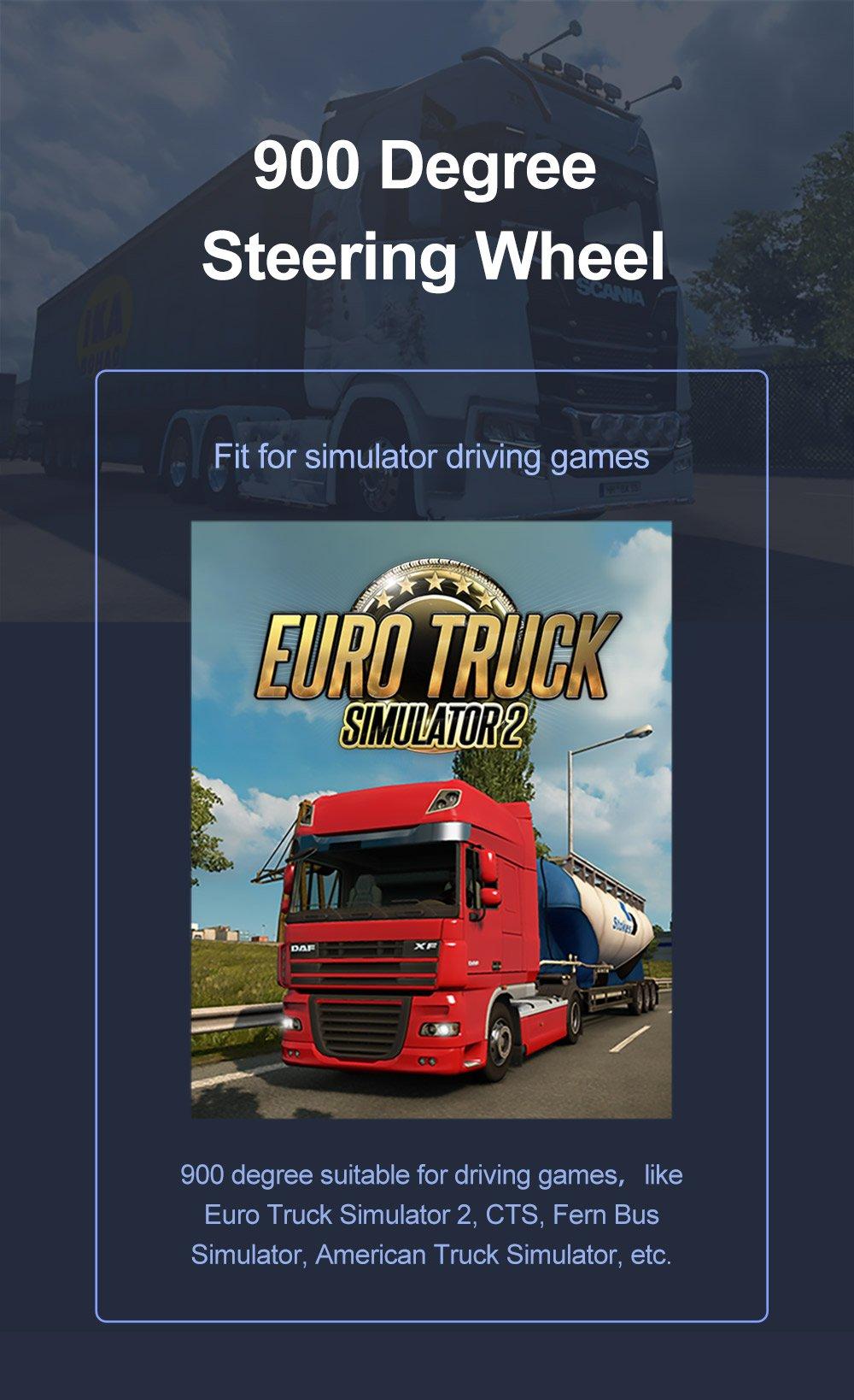 american truck simulator steering wheel