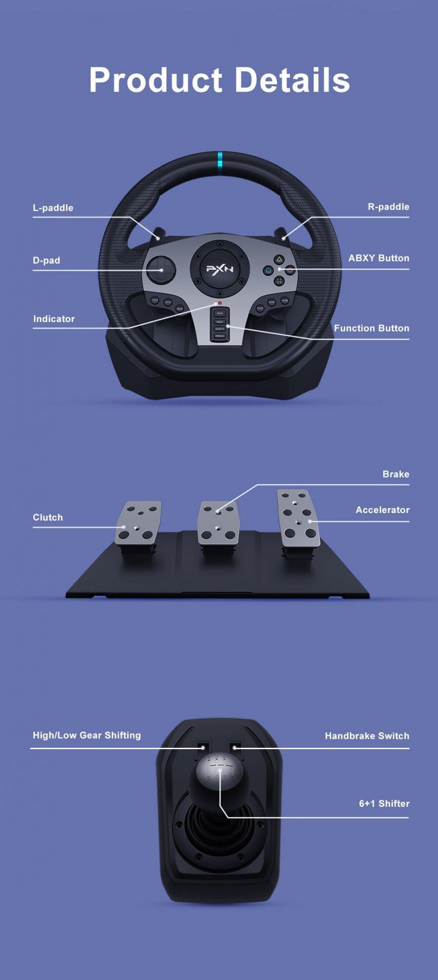 steering wheel controller